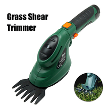 Garden Pruning Tools Cordless Grass Shears Electric Hedge Trimmer for Garden Landscape Mini Lawn Mower(China)