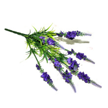 Mastone  Classic Artificial Fake Wisteria Vine Ratta Silk Flowers Lavender Indoor Decor 1 PCS