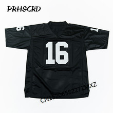 Retro star #16 Jim Plunkett Embroidered Throwback Football Jersey(China)