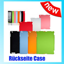 1Pc Slim Back Case Suits Smart Cover Partner for iPad 2 3 Multi-Color(China)