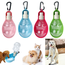 250ML Dog Water Bottle Kitten Cat Drinking Fountain Automatic Slow Dispenser Water Bowls for Dog Plastic High Quality(China)