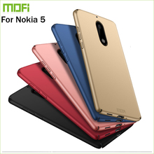 New 2017 For Nokia 5 Cover Case Original MOFI Hard Case For Nokia 5 Case Hight Quality Phone Shell For Nokia 5 5.2''(China)