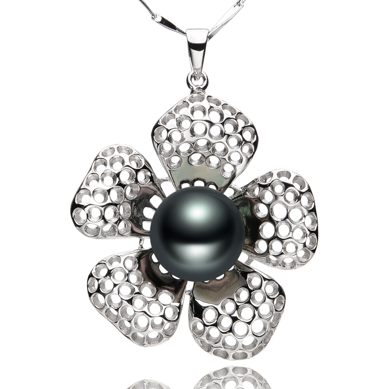 FEIGE New Design Flower-shaped Real 925 Sterling S...
