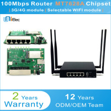 MTK MT7628 2.4G 2T2R AP Router WIFI OpenWrt MT7612 MT7615 MT7628A Chipset PCBA ODM OEM Low Cost Custom Sim Card Board(China)