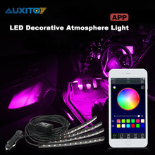 APP Control Car LED Decorative Atmosphere Light For Ford Focus 2 3 1 Fiesta Mondeo Fusion Kuga Transit Mustang Ranger Ecosport(China)