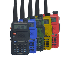 Hot pofung uv 5r Portable Radio Baofeng UV-5R two way radio Walkie Talkie 5W vhf uhf dual band Communication Equipment