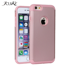 Telephones Case For iPhone 6 Plus iPhone 6S Plus (5.5 inch) Phone Cases Smartphone Heavy Duty Silicone Hard Mobile Phone Cover