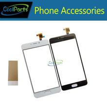 High Quality Black white color For Meizu M3 S Mini Touch Screen Digitizer with Tape glue PC /Lot(China)