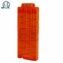 MQ 12 Reload Clip Magazines Round Darts Replacement Plastic Magazines Toy Gun Soft Bullet Clip Orange For Nerf N-Strike Elite