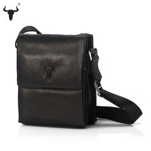 Men Messenger Bags Top Genuine Leather Designer Handbags High Quality Men's Bag Cowhide Man Shoulder Cross Body Bag Male