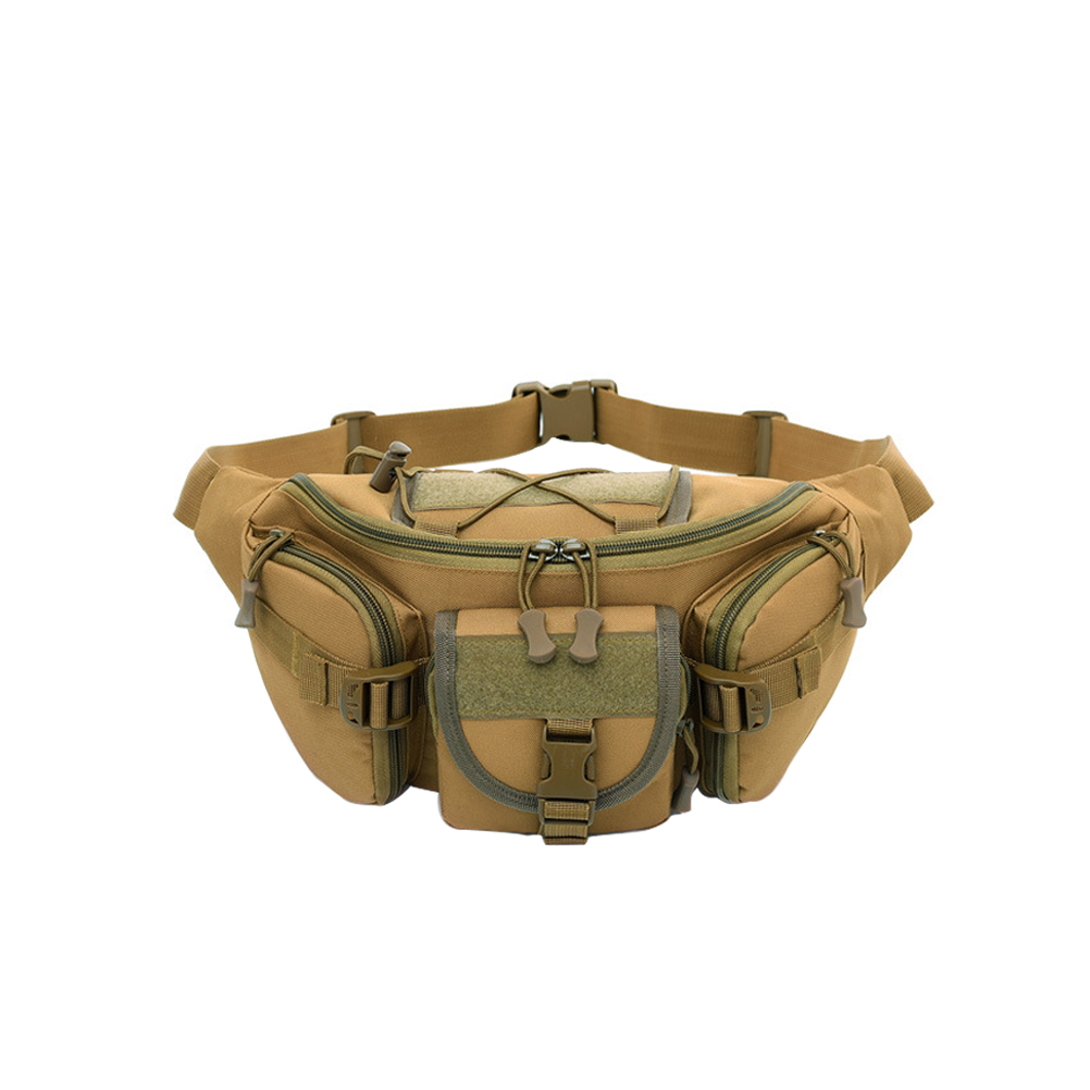 Waterproof Tactical Military Fanny Pack Molle Belt Pouch Waist Bum Bag Hiking