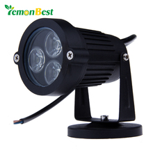 9W LED Lawn lamps Outdoor lighting IP65 Waterproof LED Garden Wall Yard Path Pond Flood Spot Light AC 110V 220V(China)