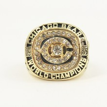 NEW ARRIVAL 1985 Chicago Bears SuperBowl XX WORLD Champions Solid Championship Ring Size 11
