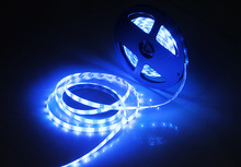 SMD 2835/3528 12V 60Leds/m Waterproof LED Strip 50cm/1m/2m/3m/4m White/Blue/RGB More Colors Flexible Light (A13,A14,A15)