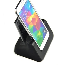 2 In 1 Desktop Cradle Phone Battery Charger Direct Dock Station Power Charging For Samsung for Galaxy S5 Mobile Phone Chargers(China)