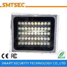 SI-50W 50PCS LED 100M White Light Illuminator DC/AC Angle 15-90 Degrees Optional IP66 Light Lamp For CCTV Security Camera