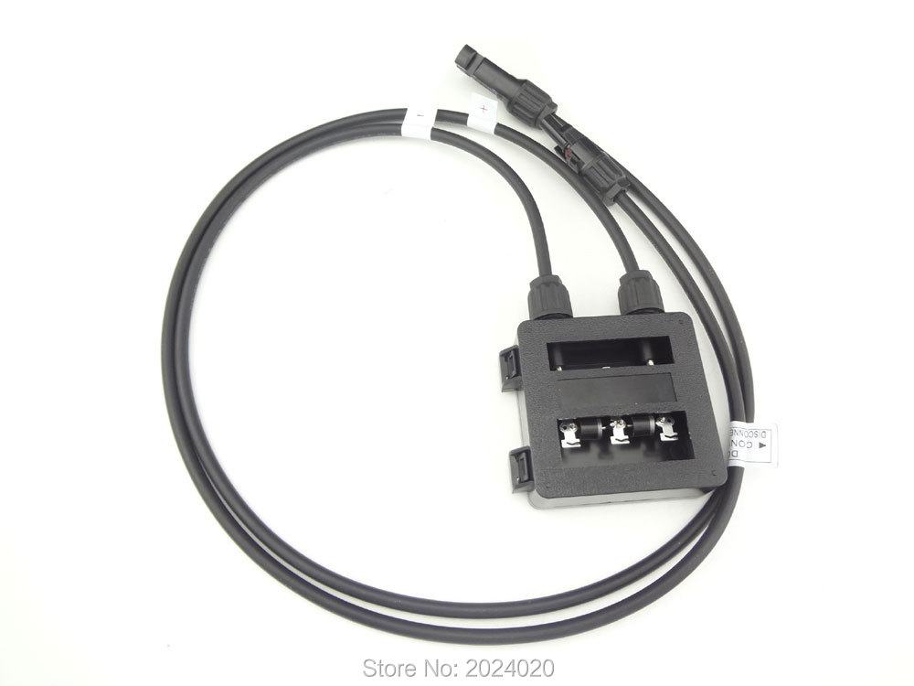 JUNCTION BOX 6AMP, with MC4 connector, with 90cm cable for SOLAR CELLS PANELS<br><br>Aliexpress
