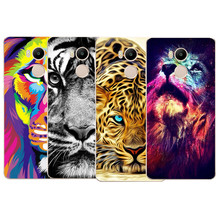 Most popular Transparent Soft Silicone lion TPU soft Cover Coque For Xiaomi Redmi 4 4A 3S Cases Redmi Note 3 Note 3 4 Pro Cases