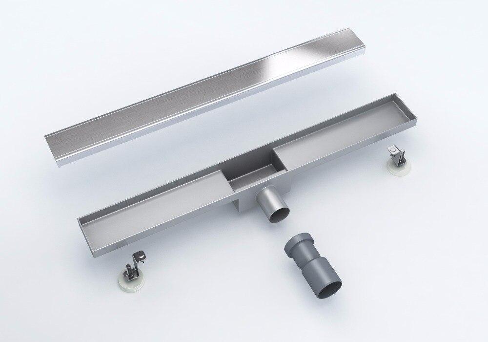 600 MM Stainless Steel Linear Long Shower  Floor Drain  <br><br>Aliexpress