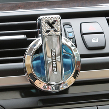 Refillable Car Air Vent Clip Rhinestone Air Freshener Perfume Scent Diffuser Store 47(China)
