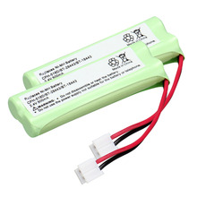 2pack home phone battery walkie talkie battery 2.4 V 500 mAh Home Phone Battery for CPH-518D/BT-28443/BT-18443(China)