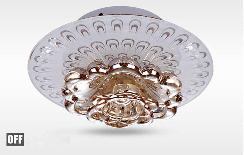 Plafoniere In Cristallo Miglior Prezzo : Acquista creativo led plafoniera in cristallo corridoio soggiorno