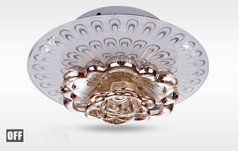 Plafoniere In Cristallo Prezzo : Acquista creativo led plafoniera in cristallo corridoio soggiorno