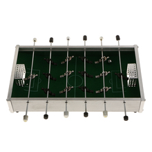 Mini Table Football Game Soccer Children Toy Metal Foosball Children Gift Leisure Recreation Boys Guys Family Fun Table Sports