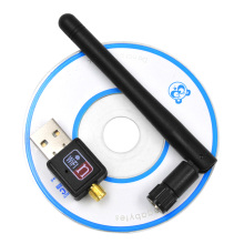 150mbps Mini Wireless USB Wifi Adapter Lan Card 802.11b/g/n Wlan PC Wifi Receiver External Wi-Fi Dongle Antenna Wi Fi For Laptop