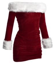 Hot Sale Sexy Christmas Santa Claus Costume Ladies XMAS Fancy Dress M L XL XXL