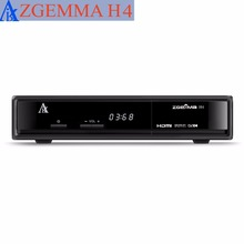 20 pcs/lot zgemma H4 picture in picture tv box 3 * dvb c triple cable set top box(China)