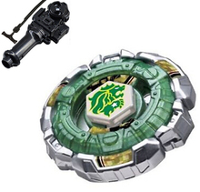 4D hot sale beyblade Sale Beyblade l drago Fang Leone BB-106 (B147) Metal Fury 4D Launchers Toys For bey blade music neodymium m(China)