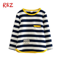 2017 Spring Autumn Long Sleeve T-shirt for Girls Stripe Boys Shirts Children Tops Children's Sweatshirts Baby Clothing Tees