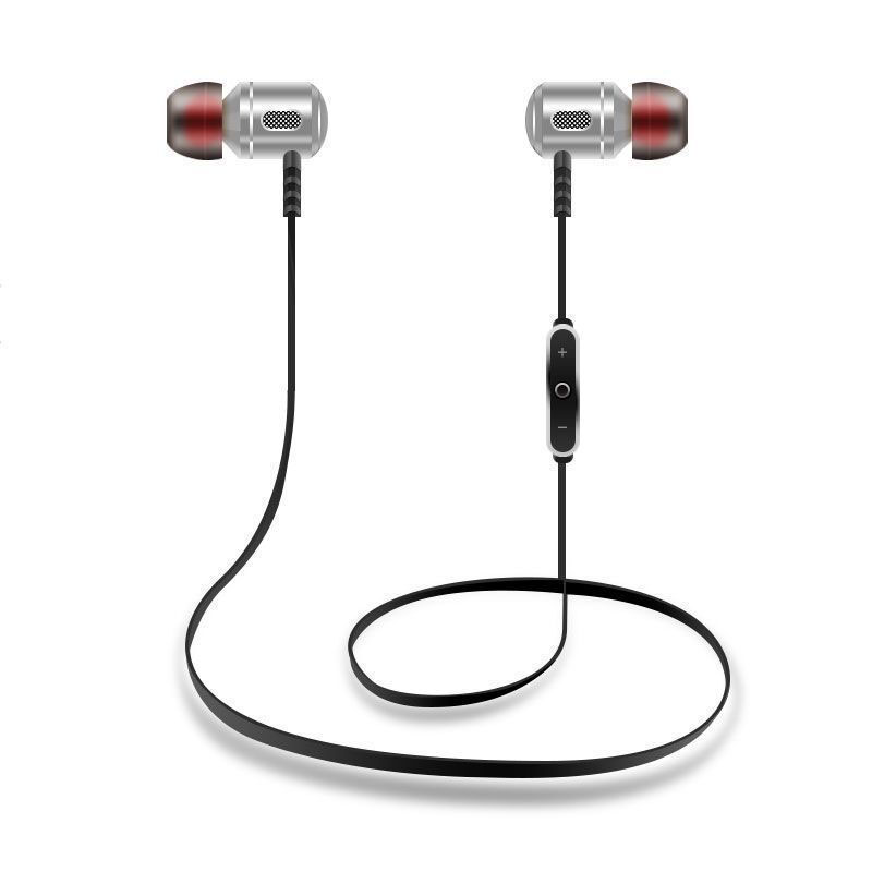 DOITOP Sport Running Bluetooth Earphone Headset Neckband Headphone Wireless Stereo Headset Noise Cancelling for IOS Android O4