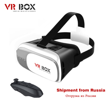 "VR BUCINUM VR BOX 2.0 VR 3D Glasses Virtual Reality Immersive VR BOX for 3.5-6.0"" Smartphones with Wireles Controller"
