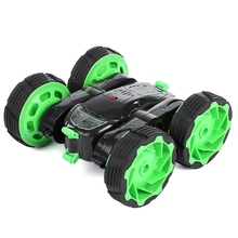 NEW MKB 5588 - 610 Mini RC Car 27MHz 4CH Stunt Car 360 Degree Flexible Wheels Rotation LED Light Remote Control Robot RC Cars