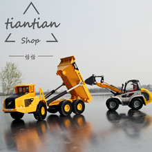 kids toys for children Alloy car model excavating machinery Turn the car Exquisite work child gifts