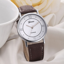 hot sale europe design roman number watches wholesale 2016 man woman casual sport wristwatch fashion students dress watches XM(China)