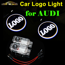 2 x Car Door Lights LED Welcome Light LOGO Laser Lamps for AUDI RS A1 A3 A4 A5 A6 A8 Q5 Q7 TT Q3 R8 S3 S4 S5 S6 S7 S8