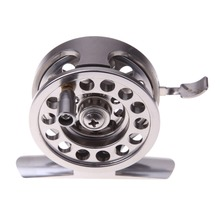 2017 New Fishing Reels Metal Spool Centrifugal Droplets Round Bearings Aluminum Alloy Fly Fishing Wheel For Line#4 /65M