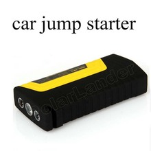 free shipping Portable Car Jump Starter Power Bank Emergency Jumper Auto Battery Booster Pack Vehicle with 2 USB