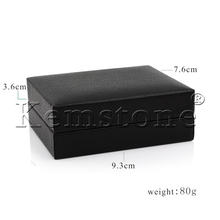 Black Cardboard Cufflinks Boxes,can be packed 1pair of cufflinks with 1pcs of tie clip/box,cfbox006