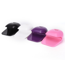 1Pcs 4 Colors Nail polish dryer factory direct glue dry battery mini portable fast drying drier machine tool nail fan