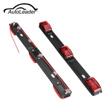 "AutoLeader Truck Trailer ID 14"" Red 3 LED Light Lamp Bar For Ford F150 F250 Dodge/ RAM Pickup Truck RV 12V -24V DC(China)"