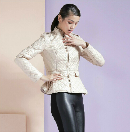 Free shipping ! New arrival autumn and winter women fashion formal thin short design slim small wadded jacket / S-XLОдежда и ак�е��уары<br><br><br>Aliexpress