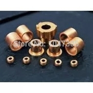 4*8*8mm.  Powder Metallurgy oil bushing  porous bearing  Sintered copper sleeve