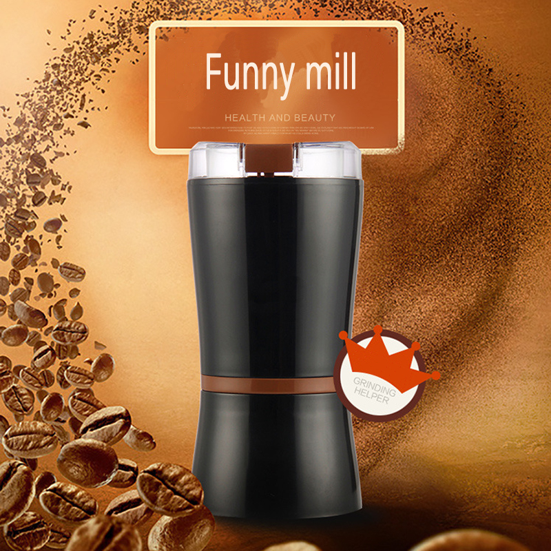 Household grinding machine coffee grinder ultra - fine grinder Chinese medicine grain milling machine<br>