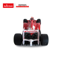 Rastar licensed rc car R/C 1:18 Ferrari F1 CE approved ABS rc drift fashion car toy track vehicle 53800(China)