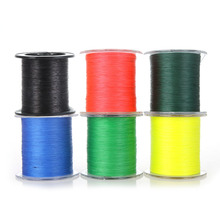 300M  Fishing Line Strong Braided 4 Strands Red Fishing Line for River Saltwater Fishing