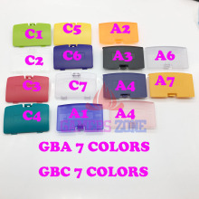 7color to choose For Gameboy Advance GBA Replacement Battery Cover Lid Door For GBA GBC Syestem